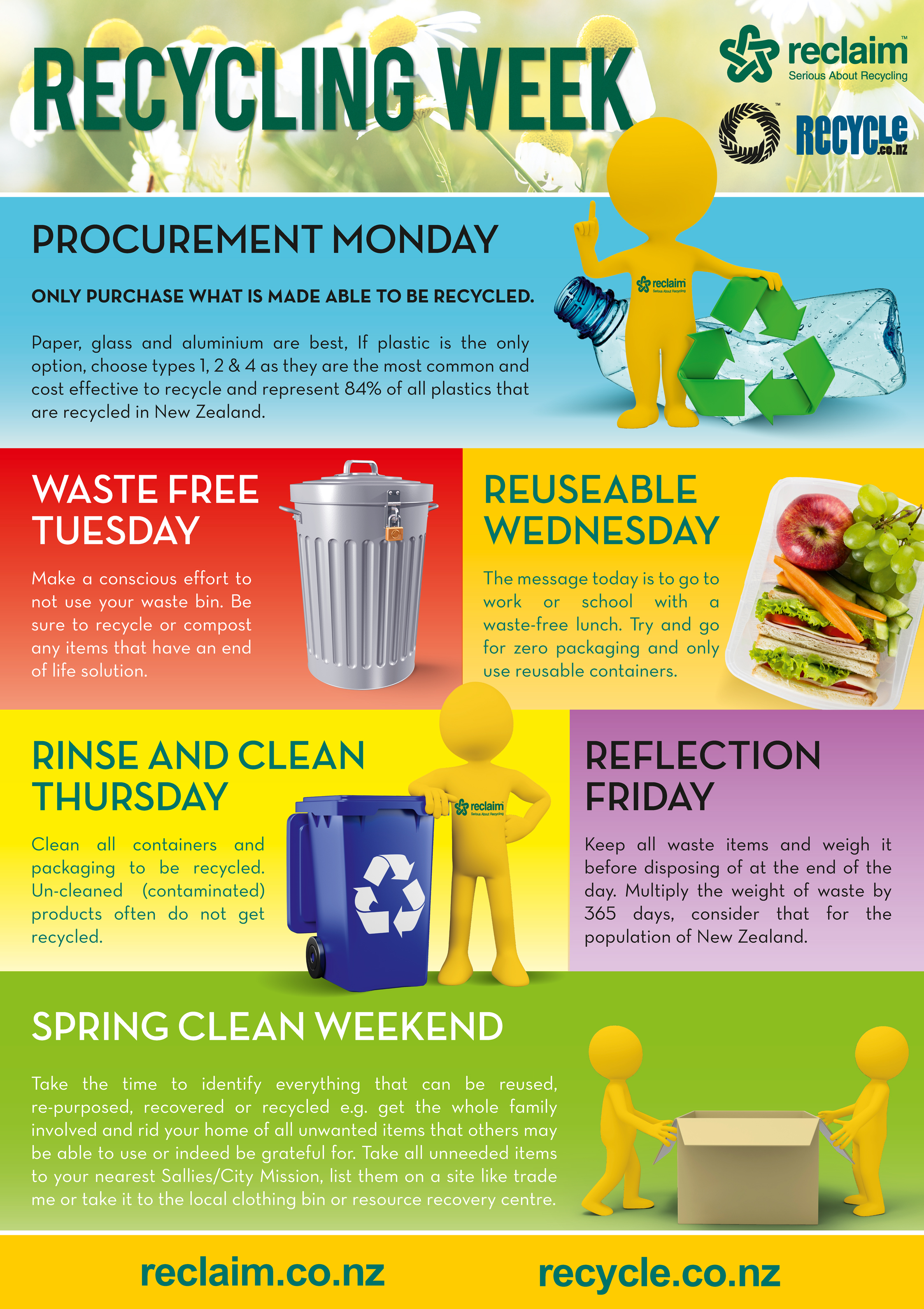recycling week Your recycling bin will be picked up, every other week, on your regularly  scheduled trash collection day to find out more about our recycling schedule  please.